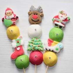 Brochette de bonbons pour Noël