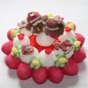 Gâteau de bonbons Marché de Noël