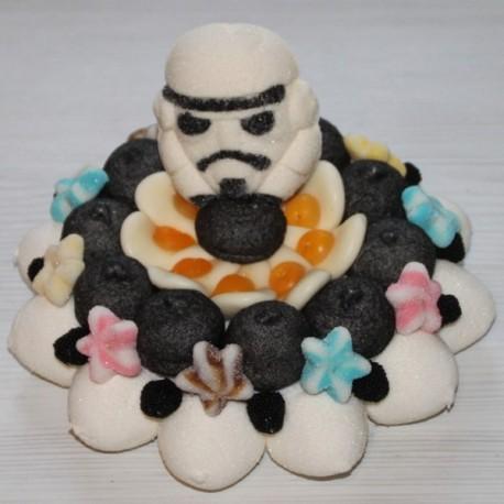 Gâteau en bonbons Star Wars