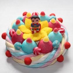 Gâteau de bonbons Héros Superman