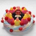"""Gâteau de bonbons Héros """" Flash """""""