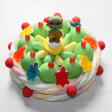 Gâteau de bonbons Tortue Ninja