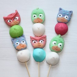 Brochette en bonbons Pyjamasques