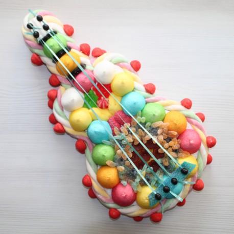 Guitare classique en bonbons petit modèle