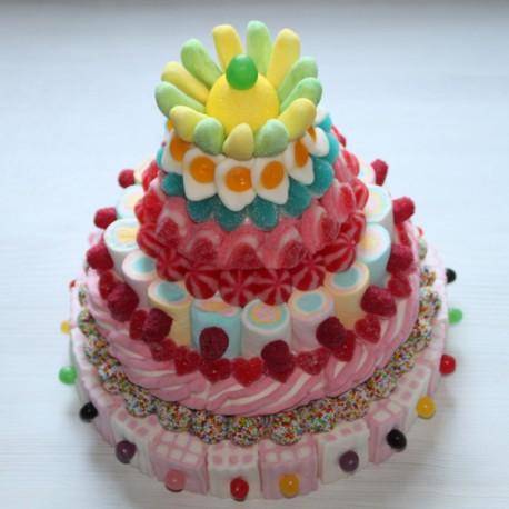 Pièce montée en bonbons Festive