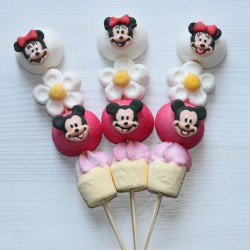 Brochette de bonbons Mickey et Minnie