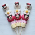 Brochette de bonbons Mickey et Minnie