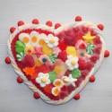 Coeur en bonbons grand modèle