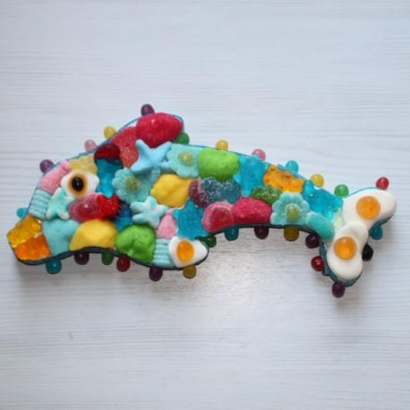 Dauphin en bonbons