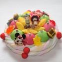 Gâteau de bonbons Peter Pan et le Capitaine Crochet