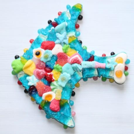 Poisson des îles en bonbons