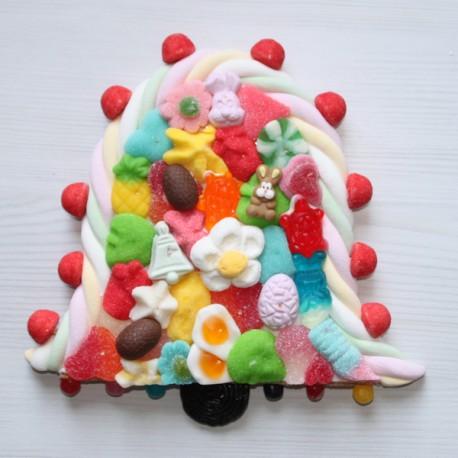 Cloche de Pâques en bonbons