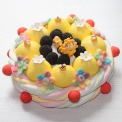 Gâteau en bonbons Maya l'abeille