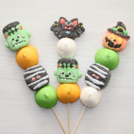 Brochette de bonbons Halloween