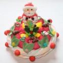 """Gâteau de bonbons """" 25 décembre """" Père Noël"""