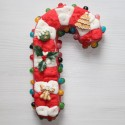 Canne de Noël en bonbons