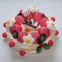 "Gâteau de bonbons "" Joyeux Noël """