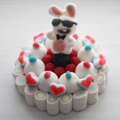 Gâteau de bonbons Lapin crétin
