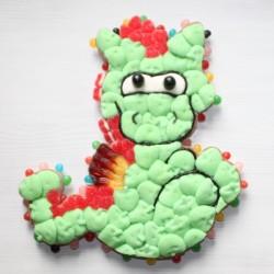 Dragon en bonbons