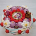 Gâteau en bonbons Masha et l'ours Michka
