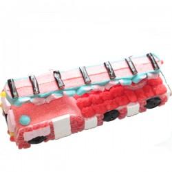Camion de pompier en bonbons 3D