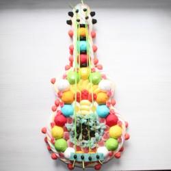 Guitare classique en bonbons grand modèle