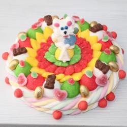 """Gâteau de bonbons """" Pâques """" grand modèle"""
