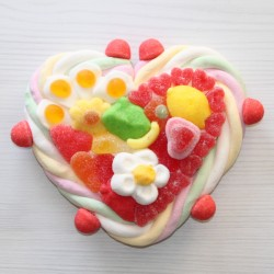 Coeur en bonbons petit modèle