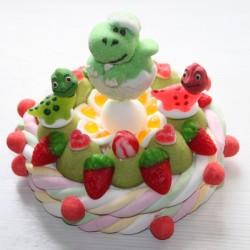 Gâteau de bonbons Dinosaure
