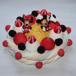 Gâteau de bonbons Minnie et Mickey