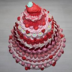 Pièce montée en bonbons Angélique