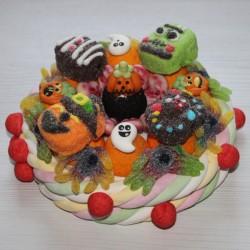 Gâteau de bonbons pour Halloween