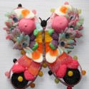 Papillon en bonbons
