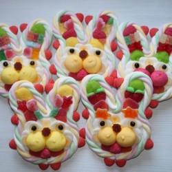 Lapin en bonbons petit modèle