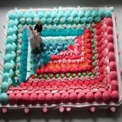 """Gâteau de bonbons Mariage """" Union """""""