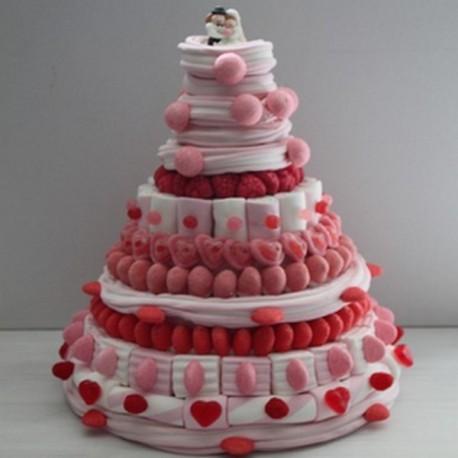 Milk-Shake fraise Everest mariage