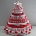 Pièce montée en bonbons mariage pour Candy Bar