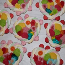 Coeur en bonbons mini