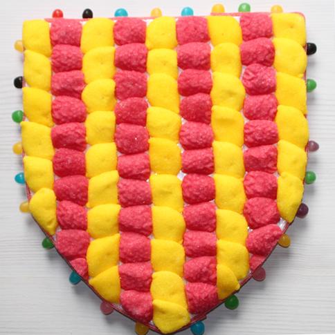Blason en bonbons