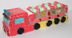 Camion en bonbons