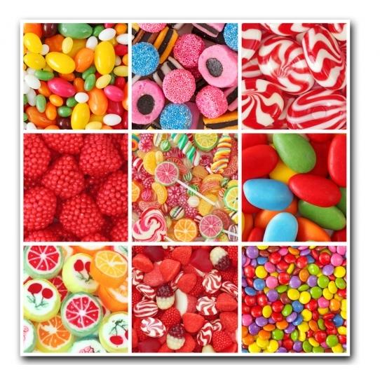 Ingrédients bonbons