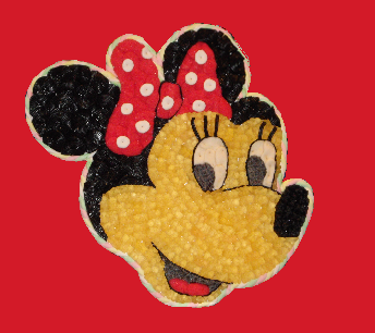 Minnie en bonbons grand modème
