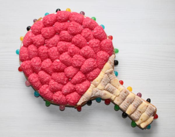 Raquette en bonbons