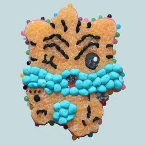 Tigre en bonbons