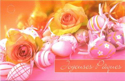 Carte Pâques