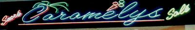 Enseigne de notre magasin en 1996